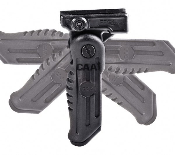 5 Positions Forearm Folding Grip With Batteries Compartment