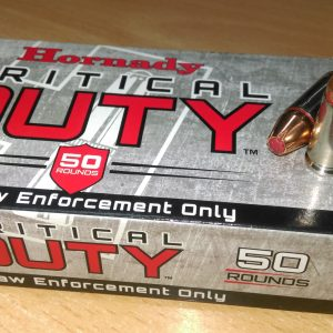 HORNADY 9x19 135gr +P Flex Lock Critical Duty Law Enforcement